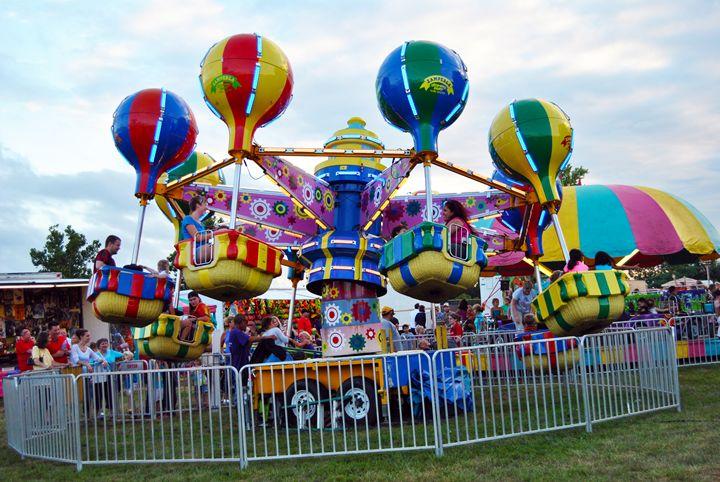 Carnival Ride - Clark Photography