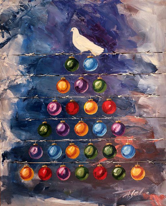 Hope for the Holidays - Hal Sadler Fine Art