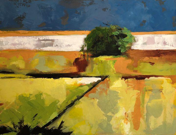 Fields - Hal Sadler Fine Art