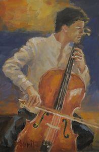 White Collar Cellist