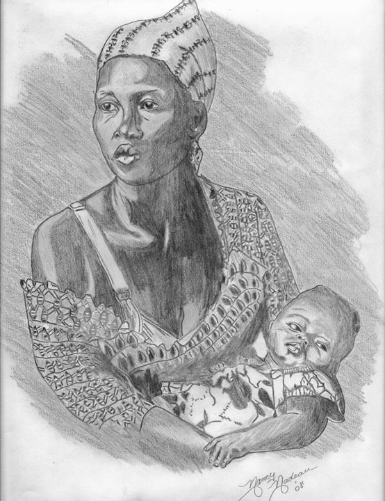 MOTHER AND CHILD - Nancy Nadeau