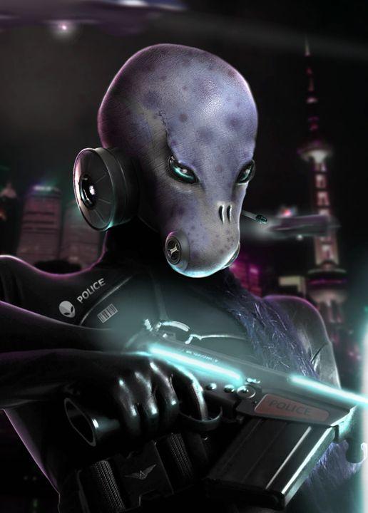 Alien Police - BrunoSousa