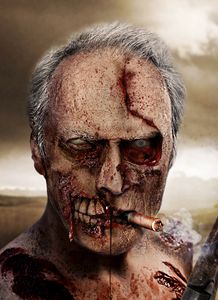 Clint Eastwood Zombie