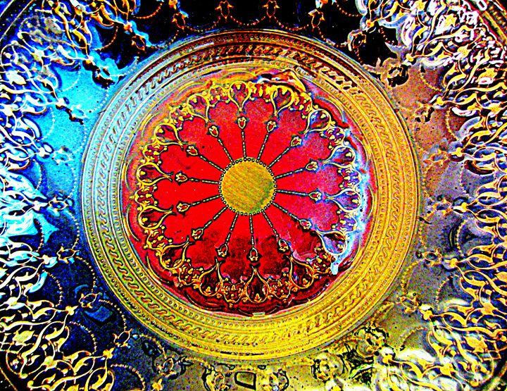 Gold Medallion - Expressive Images