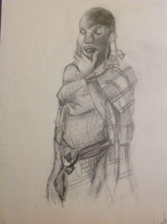 A woman from Kenya - Siranoosh