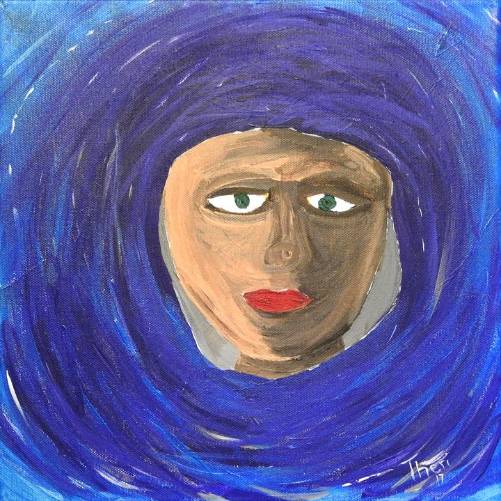 Woman Untitled - Barefoot Kid