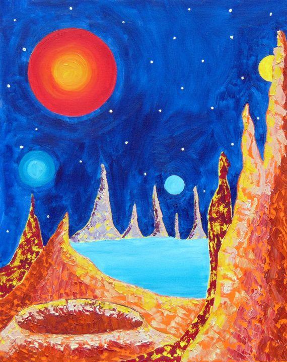 Another World - Regina Tsaliovich