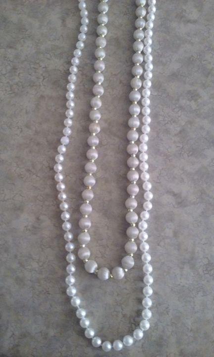 Vintage Pearl Necklace - Castor Gallery