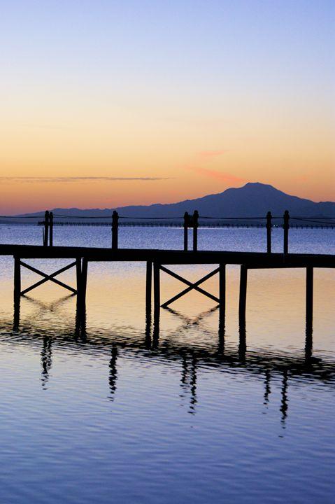 Board walk Sunset - Brian Raggatt