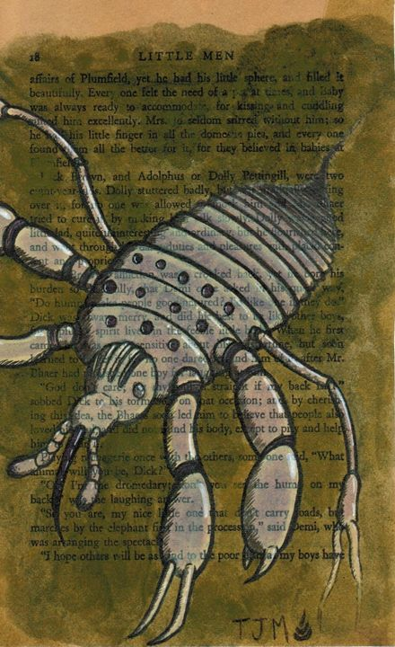 Little Men #8-Soul Louse - The Burrow of the Worm-Lord
