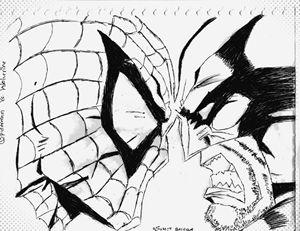 Spidey Vs. Wolverine