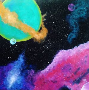Galaxy of Many Colors