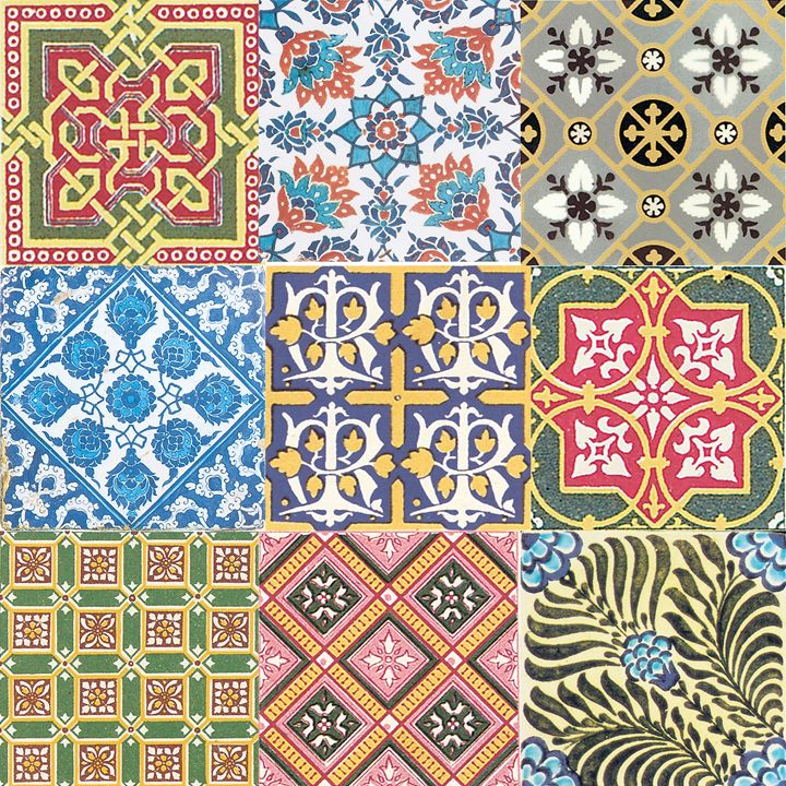 Vintage Tiles - Gersoza