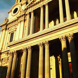Sunset on St-Paul Cathedral