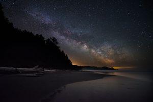 Milky Way Rising at La Push