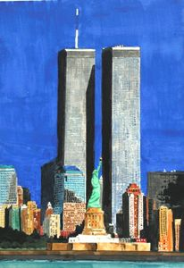 """We'll always remember"" - Watercolors byTony Digregorio"
