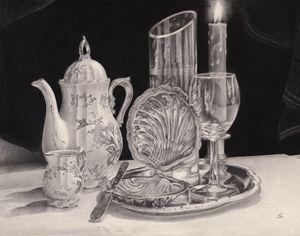 Ceramica, metal y vidrio