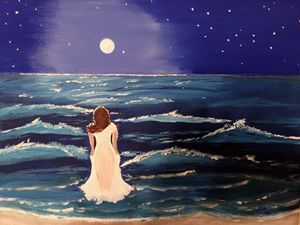 """""""Moonlight on the Gulf of Mexico"""""""
