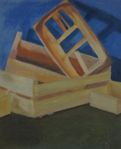 Crates Painting Stilllife Sept 2013