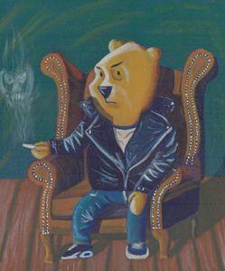 Smoking Winnie The Pooh