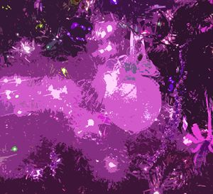 Purple Balls - francine stuart