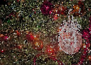 Stained Glass Ball - francine stuart