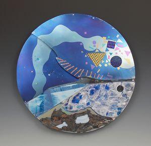 Fish Under Ice Wallpiece - Sandra VanderMey