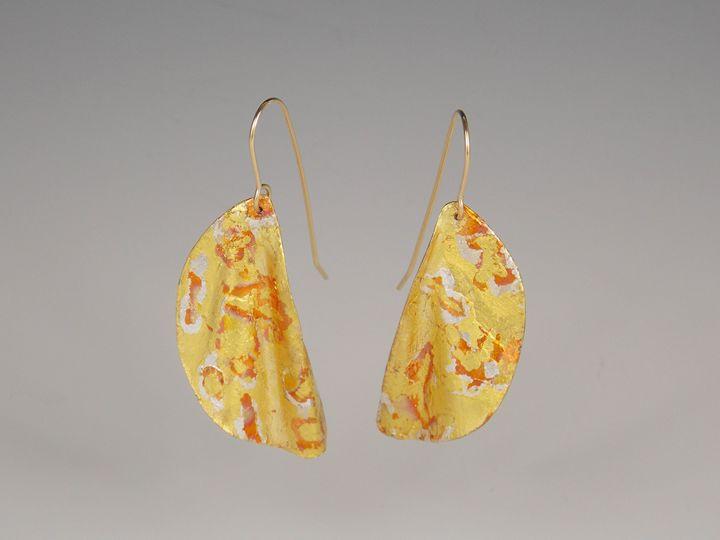 earrings three - Sandra VanderMey