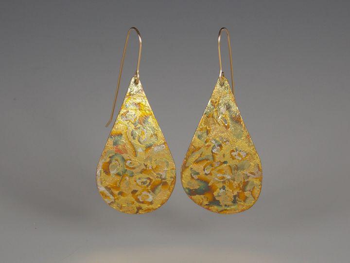 earrings two - Sandra VanderMey