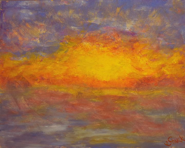 Fire & Water - Barrie Stark Blou's Art