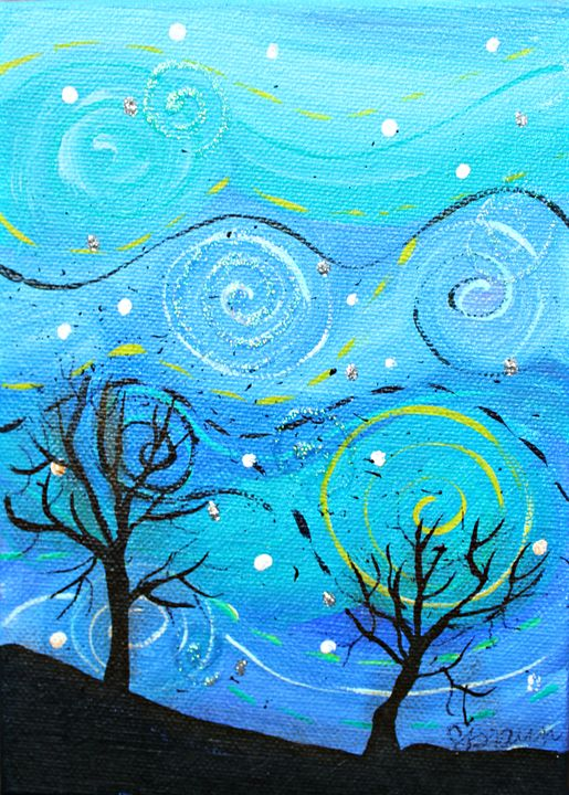 Night Sky - Funky Picasso