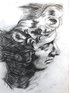 Greek Statue Sketch