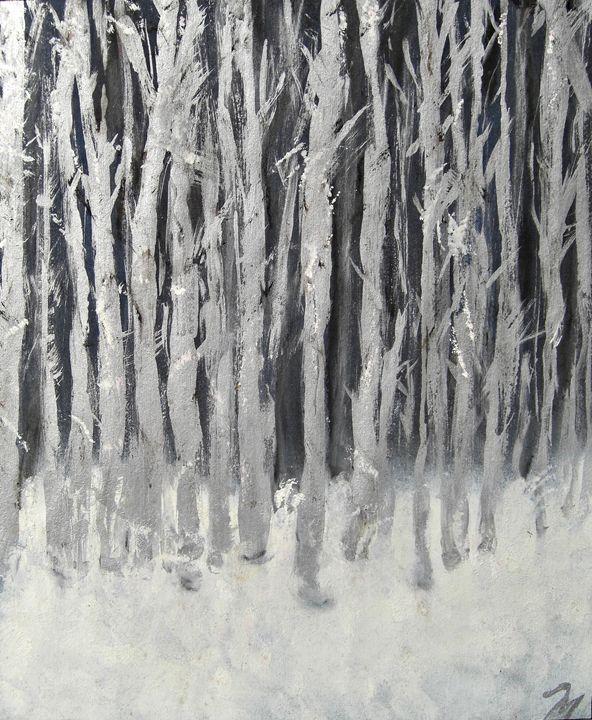 Silver Trees - Michaela Galleries