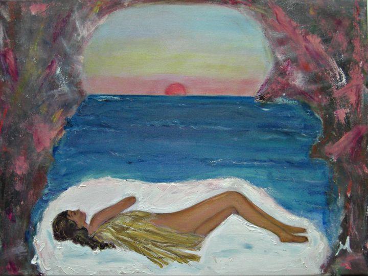 Angel Sleeping - Michaela Galleries