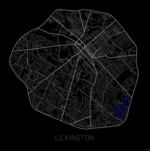 S1_City Maps_Lexington - Doss Designs