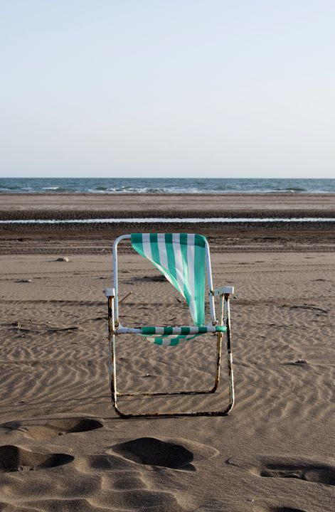 chair in the beach - Norberto Lauria