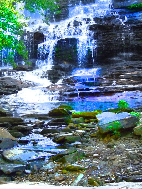 Waterfall 1 - God's Vision in My Work