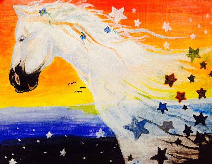 glory horse - Alyssa Mansfield