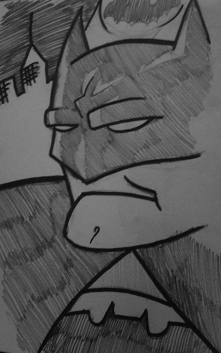 The Dark Knight SKETCH - Z. Louis Edelstein