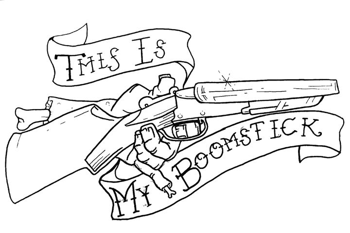 This is my BOOMSTICK!! - Z. Louis Edelstein