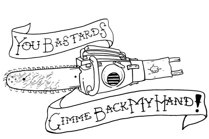 Gimme Back my Hand!! - Z. Louis Edelstein