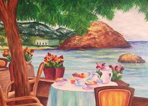 Mallorca. Original oil painting. - Dremova Elena