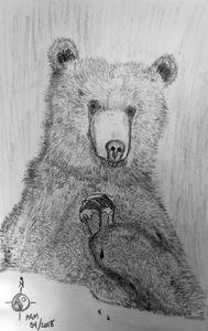 Bear with Ice Cream - Alex Gadala