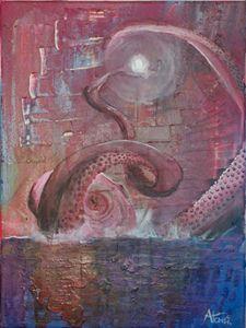Leviathan meets the moon