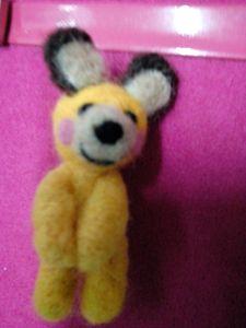 Yellow Shy Bear 2