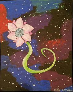 Flower in Space