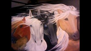 Four Horse Lovers