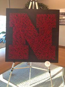 Nebraska Husker String Art