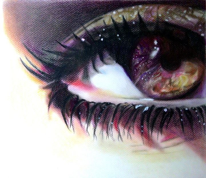 CAN´T TAKE MY EYES OF YOU - Catalina Saenz Fine Art