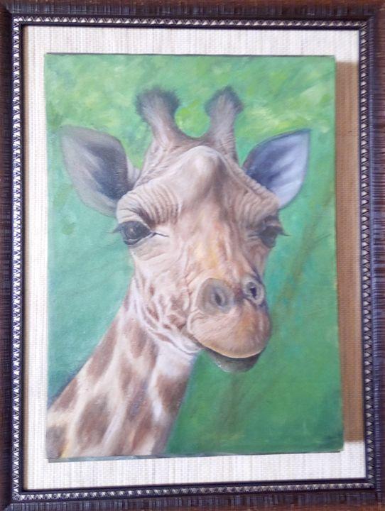 I'm  watching You - Shani Rufai with Paint